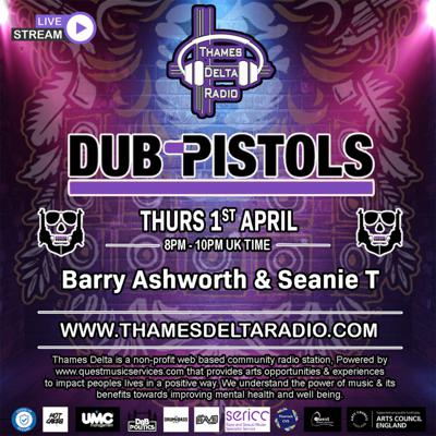 Cover art for Episode 45: Dub Pistols feat Barry Ashworth & Seanie T
