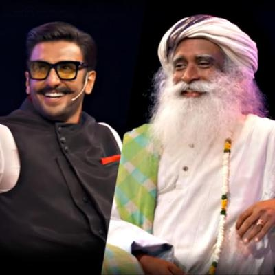 Cover art for Ranveer Singh With Sadhguru - In Conversation with The Mystic @IIMBue 2018