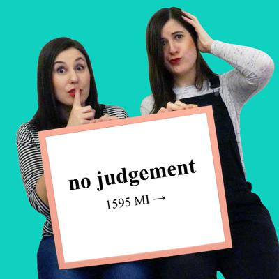 No Judgement is a new Podcast by two friends: us! - Paloma and Sandra - Two girls who are fairly new to London and decided to make the world a better place by recording their conversations! The Podcast is a place without judgement for crazy and funny stories of our own and other people's lives. It's a safe place on the internet where you can take the opportunity to share all these anecdotes you are too embarrassed to say out loud... So feel free to let go, we won't judge! In fact, we'll probably share our own stories related to the topic, and believe us when we say we have lots of #nojudgement tales to bring to the table.