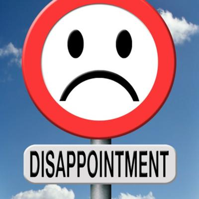 Cover art for Disappointment