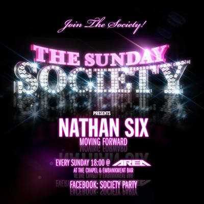 Cover art for The Sunday Society Presents Nathan Six: Moving Forward