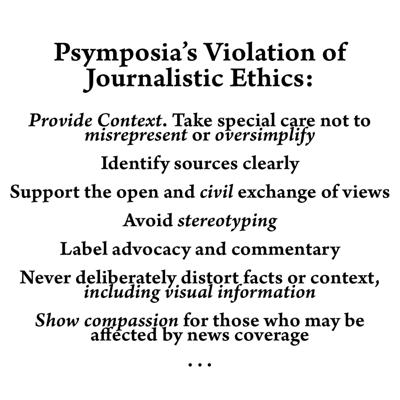 Cover art for Episode 128: Psymposia's Violation of Journalistic Ethics