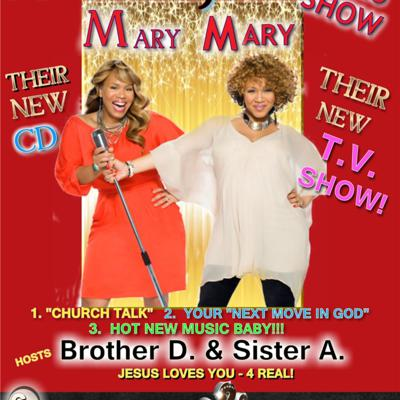 Cover art for PraisEluJAH Radio-SHOW Welcomes Mary Mary on their New Show!!!