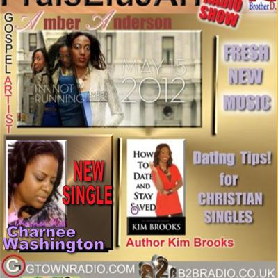 Cover art for PraisEluJAH Radio-SHOW Welcomes - Amber Anderson!!!