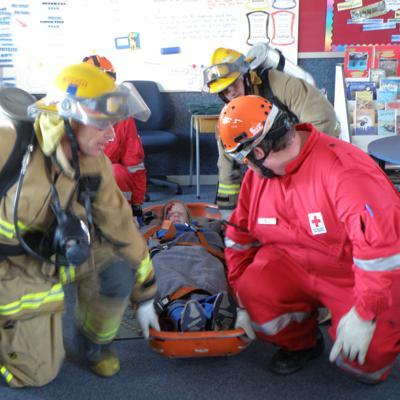 Cover art for Civil Defence Exercise at Springston School