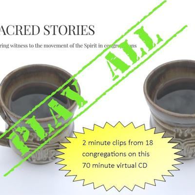 Cover art for Sacred Stories CD 70 minutes