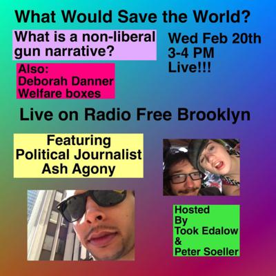 Cover art for What is a non-liberal gun narrative?