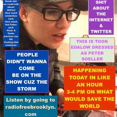 Cover art for LISTEN TO US TALK ABOUT THE INTERNET AND TWITTER