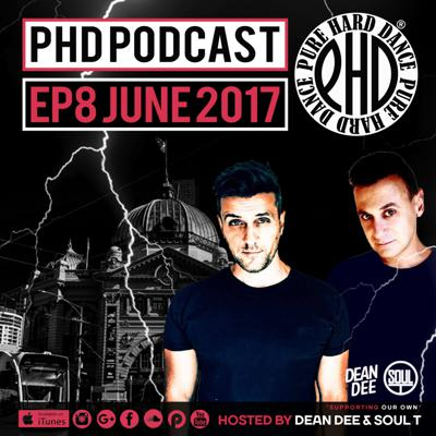 PHD Pure Hard Dance Monthly Podcast