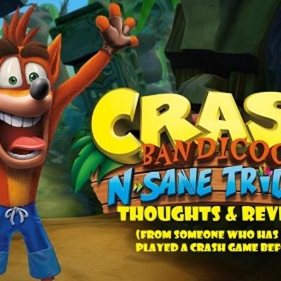 Cover art for Review of Crash Bandicoot N.Sane Trilogy
