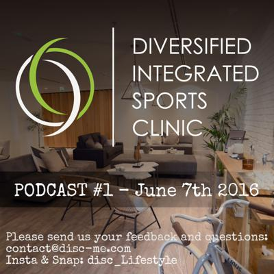 Diversified Integrated Sports Clinic (DISC) is one of the leading sports clinics in Dubai. It was developed by a team of specialists hoping to provide the Dubai community with access to state-of-the-art preventative and palliative health care.  This podcast aims at educating the public about healthcare and lifestyle topics.