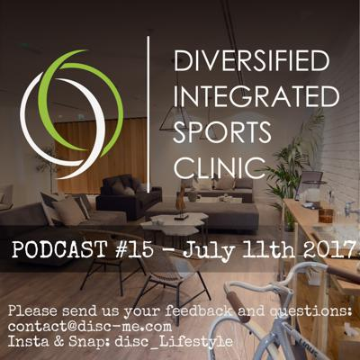 Cover art for DISC Podcast #15 - July 11th 2017