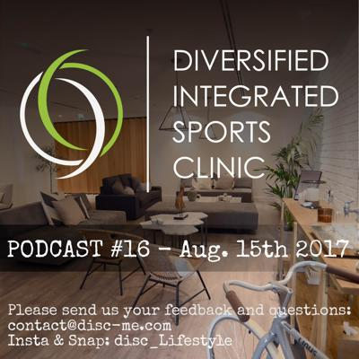 Cover art for DISC Podcast #16 - August 15th 2017