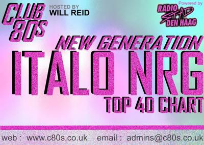 Cover art for Club 80s New Generation Italo Nrg Chart April 2014