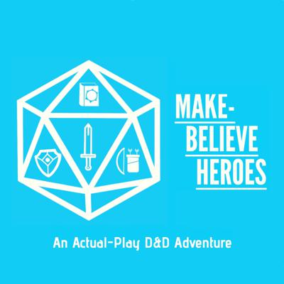 Welcome to Make-Believe Heroes: an actual-play, 5th Edition Dungeon and Dragons Adventure! Join our players every Monday as they set out for adventure in the homebrew world of Manumi. See acast.com/privacy for privacy and opt-out information.