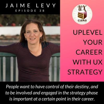 Cover art for Uplevel Your Career With UX Strategy