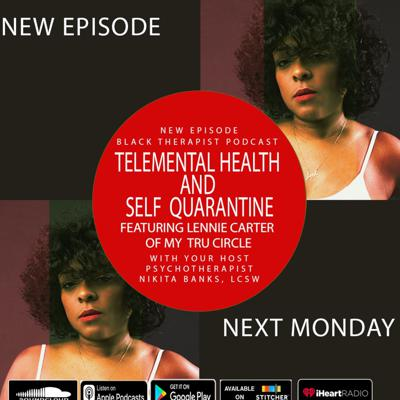 Cover art for Telemental Health and  Self  Quarantine