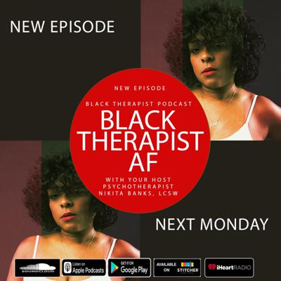 Cover art for Black therapist AF