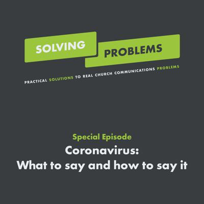 Cover art for Coronavirus: What to say and how to say it