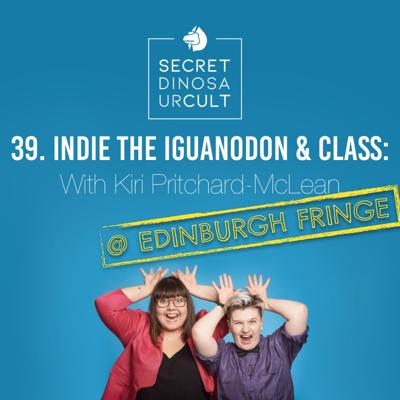 Cover art for Indie the Iguanodon & Class with Kiri Pritchard-McLean