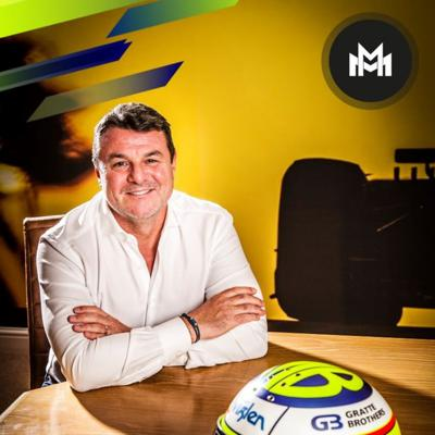 Cover art for Ep 15 with Mark Blundell (F1 legend)