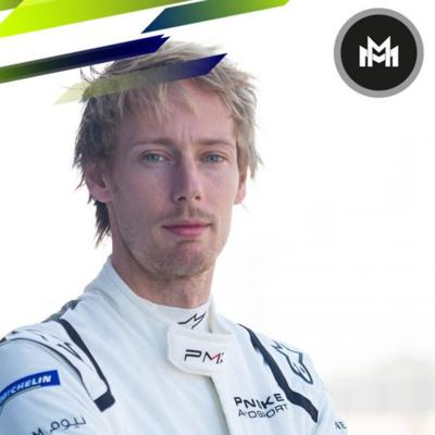 Cover art for Ep 18 with Brendon Hartley (Formula E star)