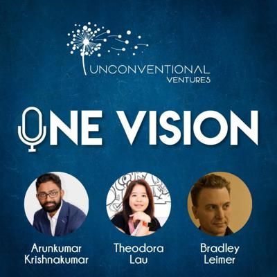 One Vision podcast co-hosted by Theodora Lau, Arunkumar Krishnakumar and Bradley Leimer brings purposeful innovation to spotlight.Its where impact meets innovation. One Vision is a convergence of minds that dream of a sustainable world for future generations galvanized by innovation.We speak to startup founders, investors, industry players, thought leaders and policy makers in the innovation ecosystem and get their views. While there have been a lot discussed about innovation in the western world, we believe that impact at scale can be achieved in the emerging markets too. In recent times we have seen several leap frog moments across the emerging world. What Alibaba and Tencent have achieved in China, PayTM in India and MPesa in Africa are great examples of impactful stories. We talk to many emerging market players and highlight their efforts to create such leap frog moments.We believe there are many innovation stories that have impact on people's life across the world. We identify these stories and talk to them about their journeys, successes and challenges they have had to overcome. In providing a stage for these entrepreneurs, thought leaders and innovators, we hope to inspire a generation looking to effect positive change. One Vision, One Dream, One Voice for One sustainable future. See acast.com/privacy for privacy and opt-out information.