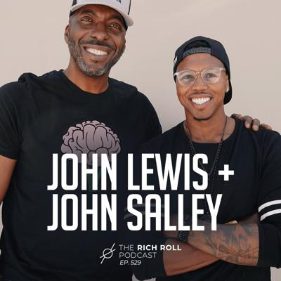 Cover art for John Lewis + John Salley Are Black In America