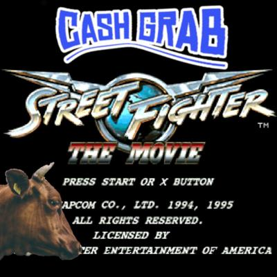 Cover art for 2 - Street Fighter the Movie