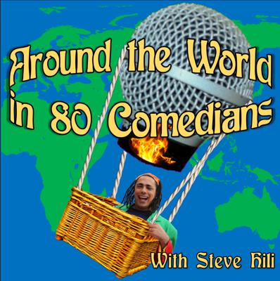 Around The World in 80 Comedians podcast