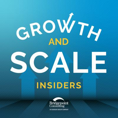 From growth strategies to creation of internal policies, companies have many choices on what to do when it comes to planning for growth and financial innovation. On Growth and Scale Insiders, experts from Bridgepoint Consulting will be joined by current business leaders to discuss strategy, trends, financial development, processes, crisis management, and more. Learn as people who have been through the journey share what they have learned, and what they wish they knew when they got their start. See acast.com/privacy for privacy and opt-out information.