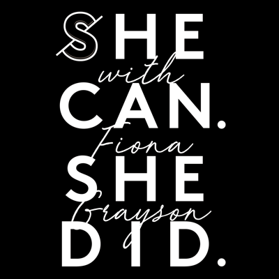Putting the spotlight on female founders in their teens, twenties and thirties who have dared to go solo and launch their own businesses in the UK, the She can. She did. podcast delves into the honest reality of what goes on behind the scenes (sans the sugar coating!) to launch, run and grow successful businesses as a young, female founder in the UK today. Throughout each episode, Fi, the 27-year-old Founder of She can. She did. (that's me, hello!) sits down to chat to female business owners from different personal backgrounds and market sectors that she admires about everything they have been through (both good but more-often-than-not, seriously challenging!) to get to where they are with their businesses today. See acast.com/privacy for privacy and opt-out information.