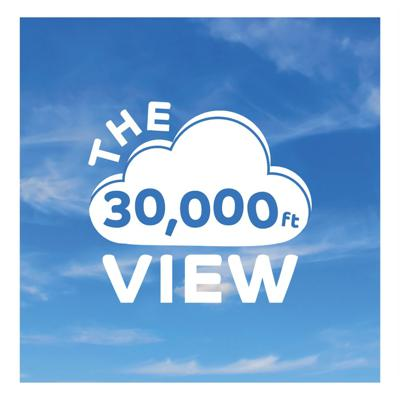 Cover art for The 30,000ft View   Carrie & Kenwright   Rise At Seven
