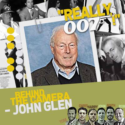 Cover art for Behind The Camera - John Glen interview