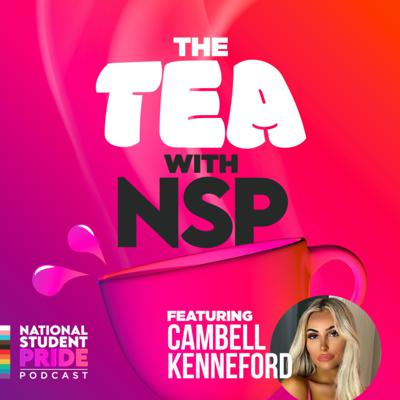 Cover art for The Tea with Cambell Kenneford on Trans Issues within Education