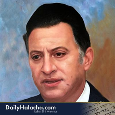 Daily Halacha Delivered to Your iPod