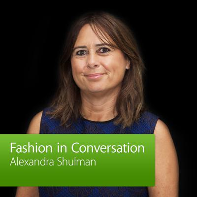 Podcast Description: In celebration of Vogue Fashion's Night Out, Alexandra Shulman, editor-in-chief of British Vogue, discusses her career and the ever-growing fashion-tech revolution. Hosted by Kinvara Balfour at the Apple Store, Regent Street.