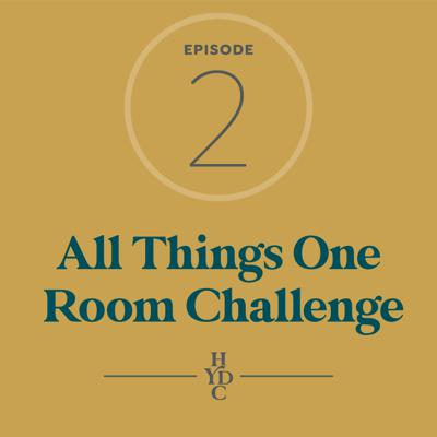 Cover art for All Things One Room Challenge