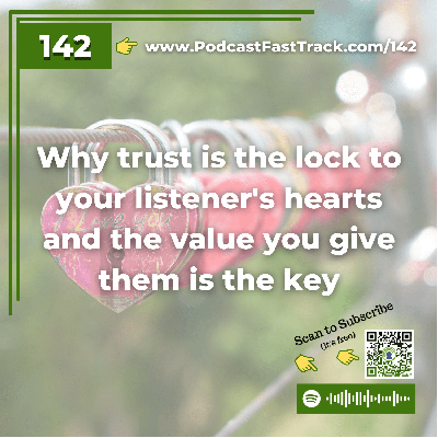 Cover art for 142: Trust is the lock and value is the key