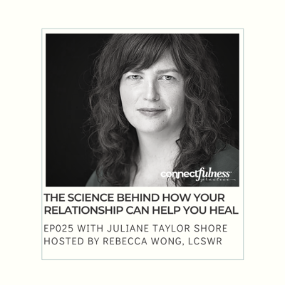 Cover art for The Science Behind How Your Relationship Can Help You Heal with Juliane Taylor Shore