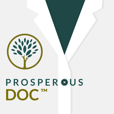 The Prosperous Doc Podcast (formerly the White Coat Wellness Podcast) is a show for doctors who are ready to improve their overall wellness in every aspect of life. In each episode we highlight real-life stories from physicians and dentists to inspire you to become a prosperous doc yourself and achieve personal, professional, and financial wellness.   If you would like to know more about the Prosperous Doc show, find show notes, and learn more about our host, Shane Tenny, visit bit.ly/ProsperousDoc.  SDT Disclosure: https://bit.ly/2Xc2mAU