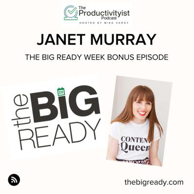 Cover art for The BIG Ready Week: Janet Murray