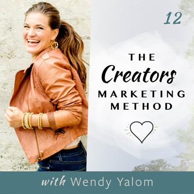 Cover art for 12. How to Take Professional Brand Photography + Taking Imperfect Action to Stop Procrastinating | with Wendy Yalom