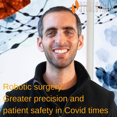 Cover art for Robotic surgery: Greater precision and patient safety in Covid times