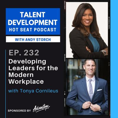Cover art for Developing Leaders for the Modern Workplace with Tonya Cornileus