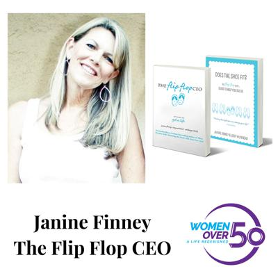 Cover art for The Flip Flop CEO with Janine Finney - Part Two