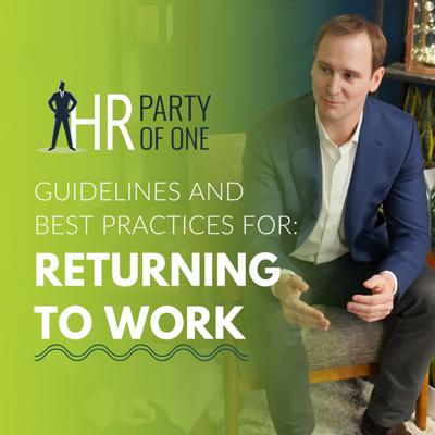 Cover art for Guidelines and Best Practices for Returning to Work