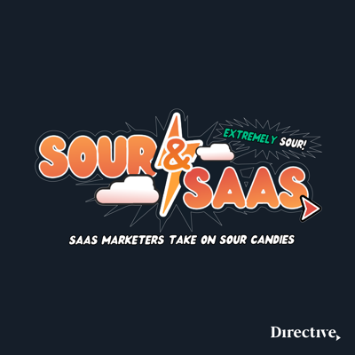 It's time to break down real SaaS marketing problems - with a sour twist.   CEO of Directive, Garrett Mehrguth, interviews SaaS marketing leaders from around the world while they're challenged to get their words out - puckering with sour candy they consume throughout their conversation.   Watch the video version LIVE on YouTube, LinkedIn, Twitter, and Facebook on Thursdays at 12:30 pm PT/3:30 pm ET.