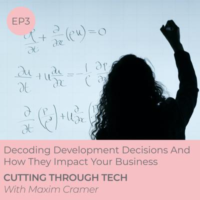 Cover art for EP3 —Decoding Development Decisions And How They Impact Your Business