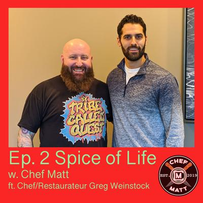 Cover art for Ep. 2 Beers, Working on Yachts, Opening a Restaurant, Bar Horror Stories, Being A Chef, Culinary School etc! Ft. Chef/ Restaurater Greg Weinstock